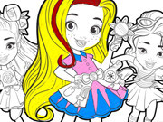 Sunny Day Coloring Book