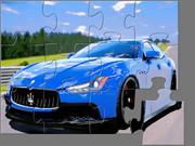 Maserati Ghibli Jigsaw