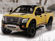 Nissan Truck Warrior Jigsaw