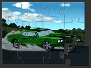 Ben 10 Car Puzzle