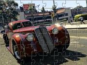 Vintage Car Jigsaw