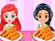 Princess Hotdog Eating Contest