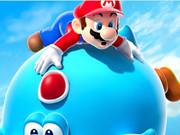 Mario And Yoshi Blue Puzzle