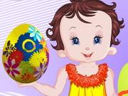 Baby Lisi Big Easter Eggs