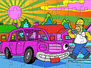 The Simpsons Pink Sedan