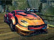 Transformers Car Puzzle