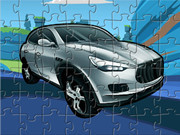 Maserati Cartoon Puzzle