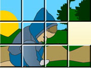 Schoolboy Sliding Puzzle