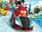 Angry Birds Racing Puzzle