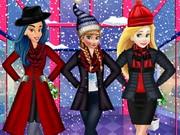Princesses Winter Shopping