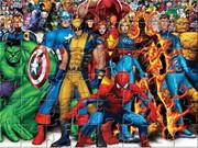 Fighting Heroes Jigsaw