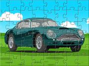 Aston Martin Cartoon Puzzle