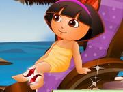 Dora At The Spa