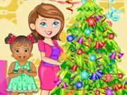 Baby Daisy New Year Party