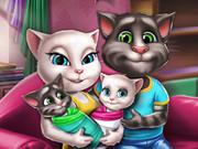 Angela Twins Family Day