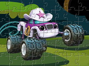 Starla Blaze Truck Puzzle