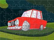 Alfa Romeo Cartoon Puzzle