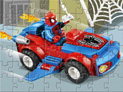 Lego Spider-car Puzzle