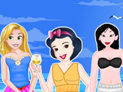 Princesses New Year Beach Party