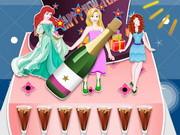 Princess New Year Cake