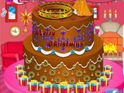 Princess Christmas Cake