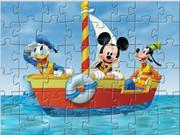 Mickey Boat Puzzle