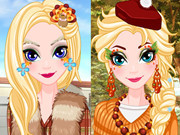 Elsa Thanksgiving Face Painting