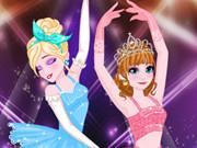 Elsa And Anna Ballet Dancer