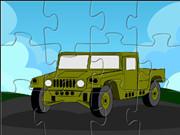 Hummer Cartoon Puzzle