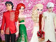 Princess Wedding Around The World
