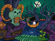 Halloween Escape Game - End Of Enigma Tree