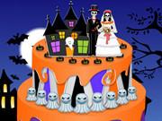Halloween Special Wedding Cake