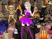 Elsa Halloween Shop Cleaning