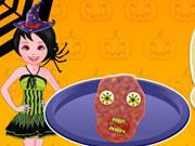 Cooking Halloween Zombie Meatloaf