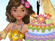 Moana Wedding Cake