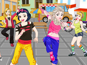 Princesses Zumba Dance