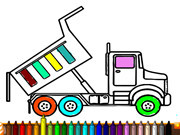 Dump Trucks Coloring