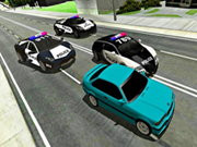 Mad Cop Police Car Race: Police Car Vs Gangster Escape