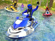 Usa Boating Game Jet Ski Water Boat Racing