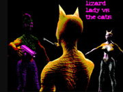 Lizard Lady Vs Herself
