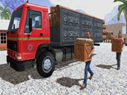 Asian Offroad Cargo Truck Drive