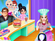 Princess Belle Cooking Dash