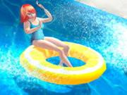 Water Slide Rush Racing Game