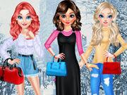 Disney Princesses Winter Fashion