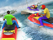 Super Jet Ski Race Stunt : Water Boat Racing 2020