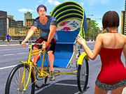 Bicycle Tuk Tuk Auto Rickshaw New Driving Games
