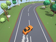 Polygon Drift: Endless Traffic Racing