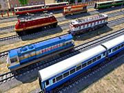 Uphill Mountain Passenger Train Simulator