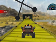 Mega Levels Car Stunt Impossible Track Game