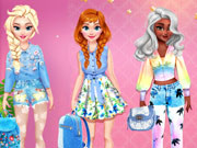Princesses Cool Denim Outfits